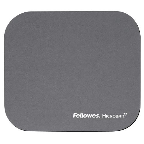 MOUSE PAD MICROBAN/SILVER 5934005 FELLOWES