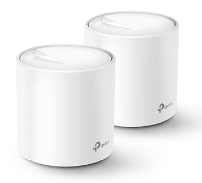 Wireless Router   TP-LINK   Wireless Router   2-pack   1800 Mbps   Mesh   IEEE 802.11a   IEEE 802.11n   IEEE 802.11ac   IEEE 802.11ax   DECOX20(2-PACK)