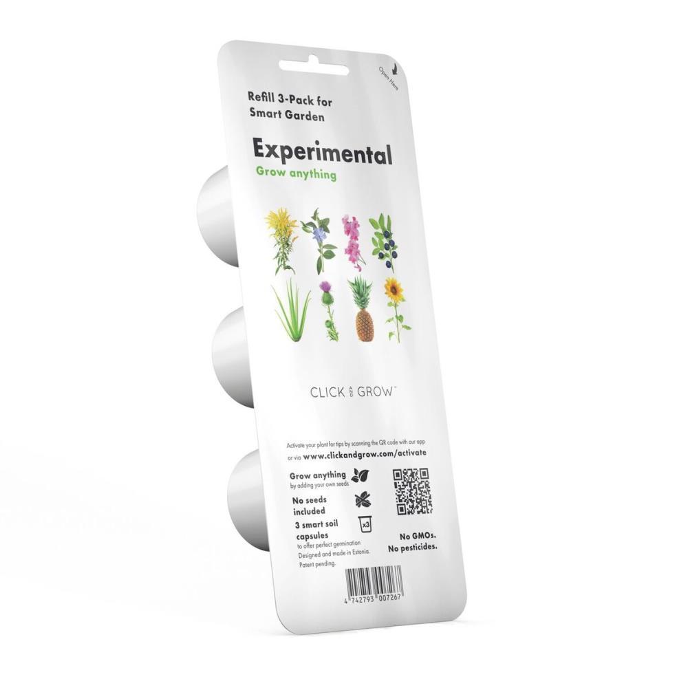 SMART HOME EXPERIMENTAL REFILL/3-PACK EX-REFILL-3 CLICK&GROW