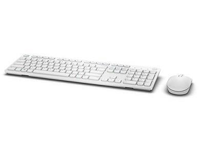 KEYBOARD +MOUSE WRL OPT. KM636/ENG WHITE 580-ADGF DELL