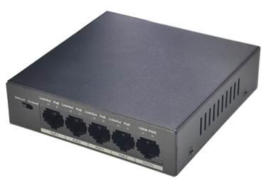 NET SWITCH 4PORT 4POE 10 100 PFS3005-4P-58 DAHUA