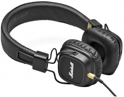 HEADPHONES MAJOR II PITCH BLACK 04091114 MARSHALL