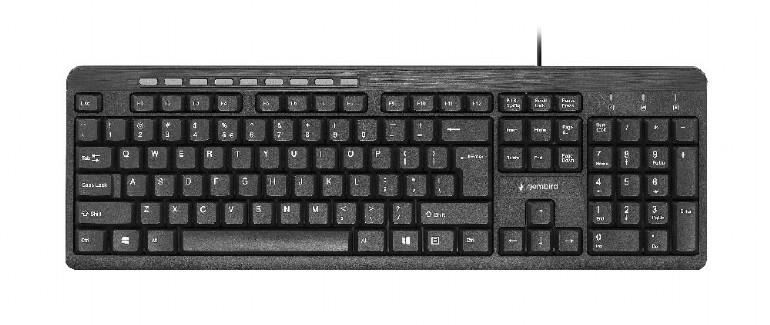KEYBOARD MULTIMEDIA USB ENG/KB-UM-106 GE..