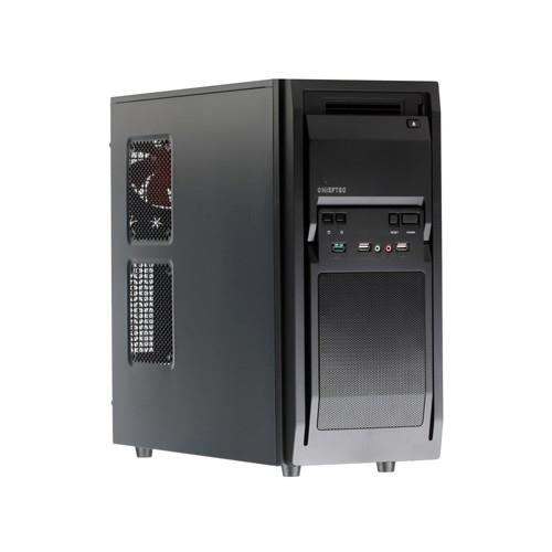CASE MIDITOWER ATX W O PSU BLACK LF-02B-OP CHIEFTEC