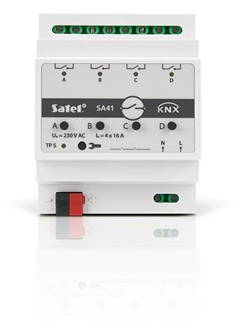 SMART HOME UNIV. SWITCH/ACTUATOR KNX-SA41 SATEL