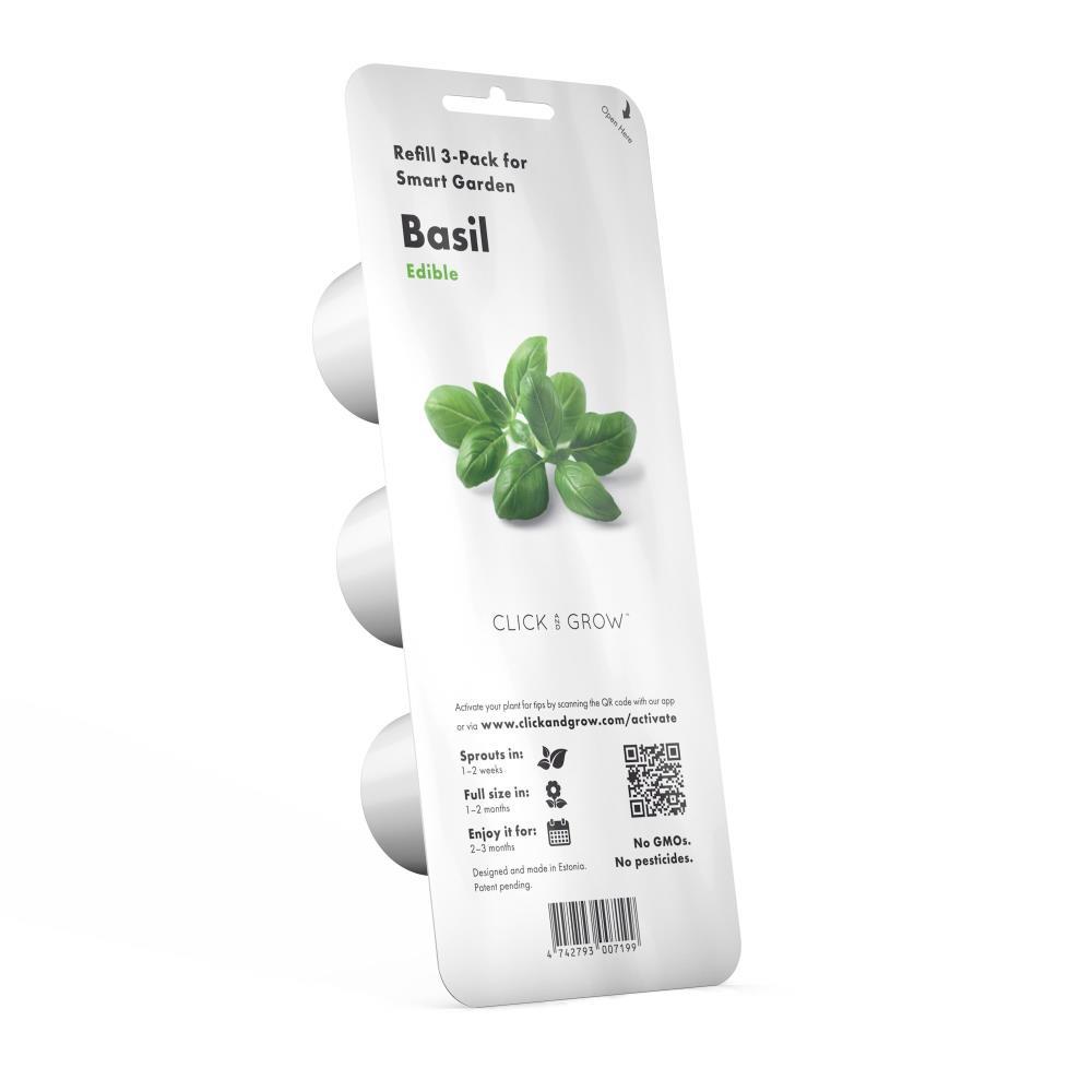 SMART HOME BASIL REFILL 3PACK/BASIL-REFILL-3 CLICK&GROW