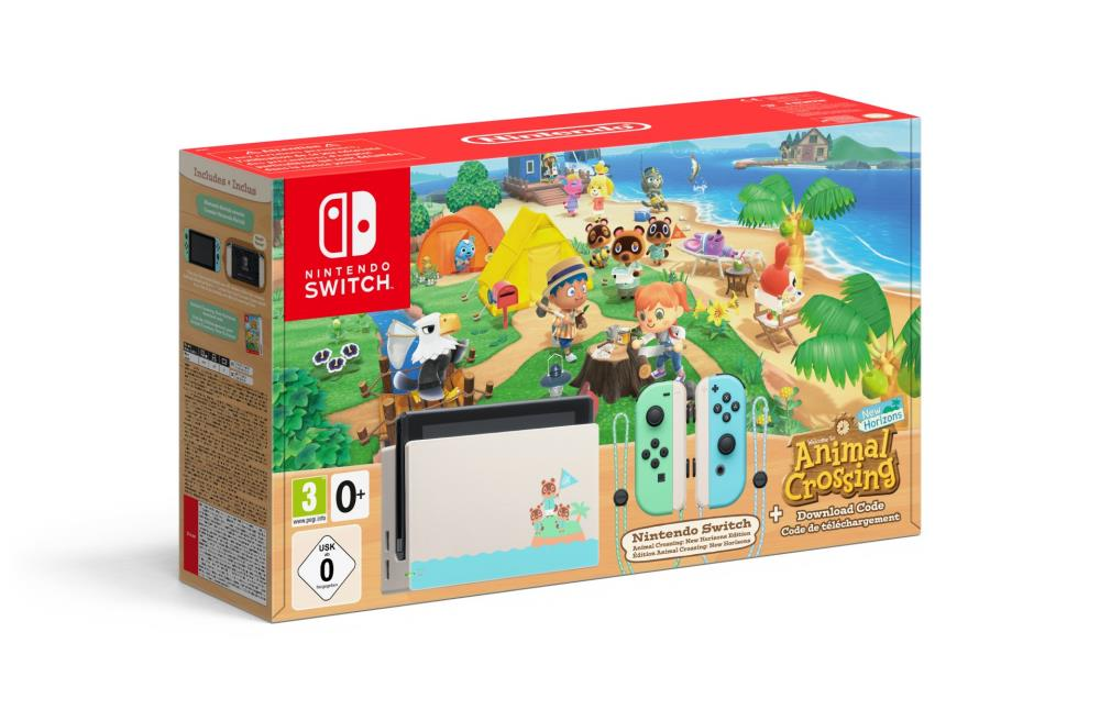 CONSOLE SWITCH+ANIMAL CROSSING/HORIZONS ED. 21020..