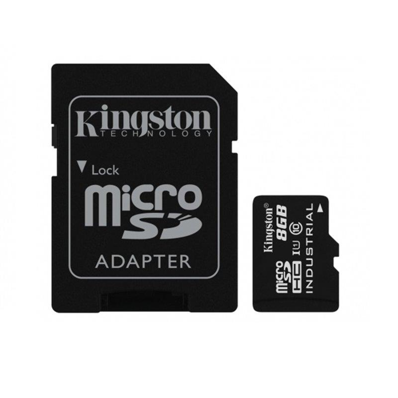 MEMORY MICRO SDHC 8GB UHS-I W ADAPTER SDCIT 8GB KINGSTON