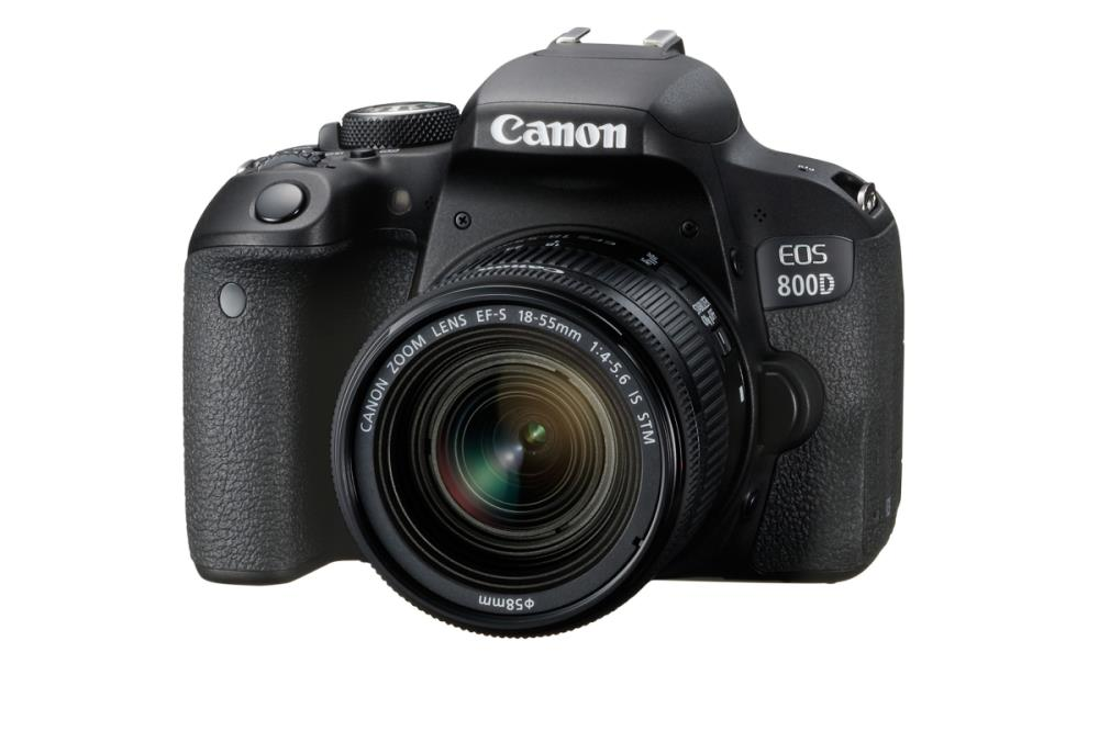 CAMERA DSLR EOS 800D KIT 18-55 IS STM 1895C008AA CANON