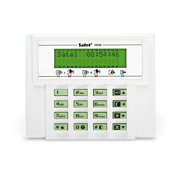 KEYPAD LCD /VERSA GREEN/VERSA-LCD-GR SATEL
