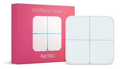SMART HOME WALLMOTE QUAD/Z-WAVE AEOEZW130 AEOTEC