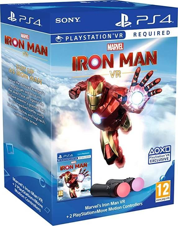 CONSOLE ACC CONTROLLER/+GAME IRON MAN VR /PS4 SON..