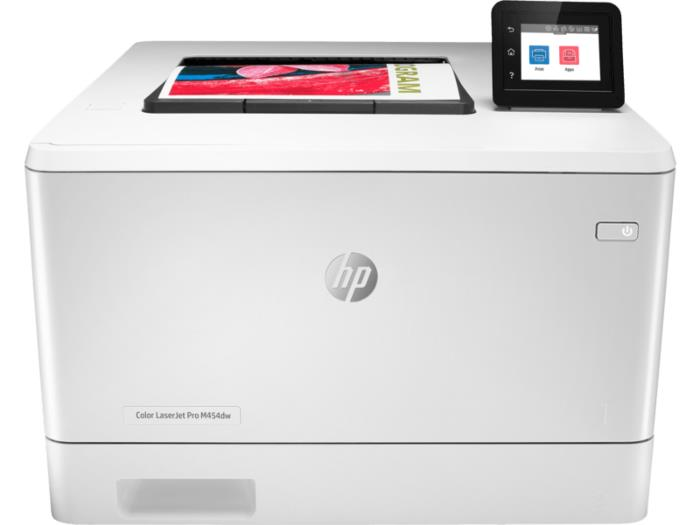 Colour Laser Printer|HP|LaserJet Pro M454dw|USB 2..