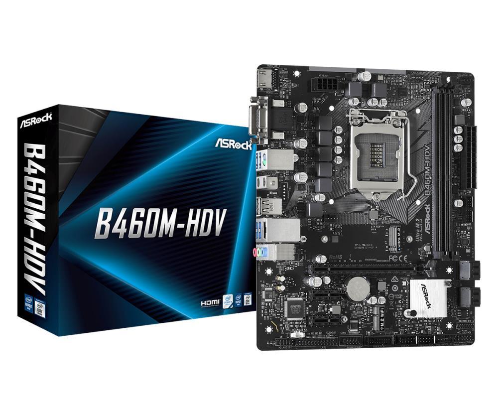 Mainboard|ASROCK|Intel B460 Express|LGA1..