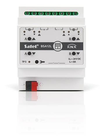 SMART HOME BLIND ACTUATOR/KNX-BSA12L SATEL