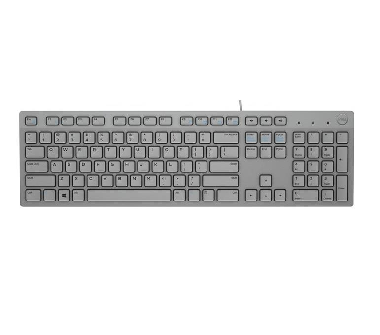 KEYBOARD KB216 ENG/GREY 580-ADHR DELL