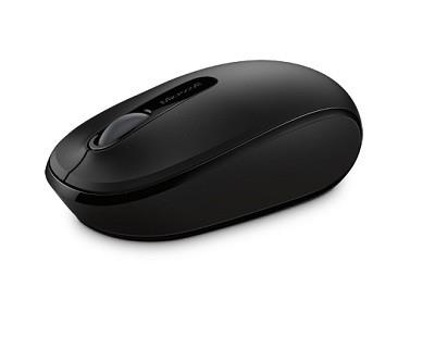 MOUSE USB OPTICAL WRL MOBILE/1850 BLACK U7Z-00004 MS