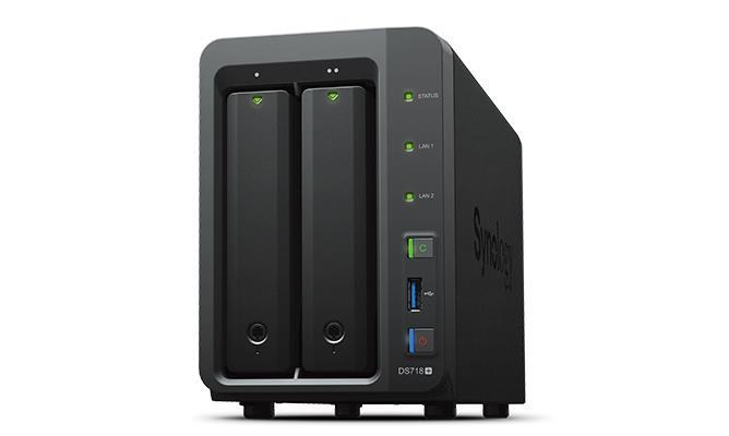 NAS STORAGE TOWER 2BAY  NO HDD DS718+ SYNOLOGY