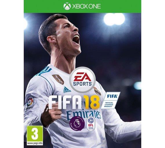 GAME FIFA 18  XBOX ONE MICROSOFT