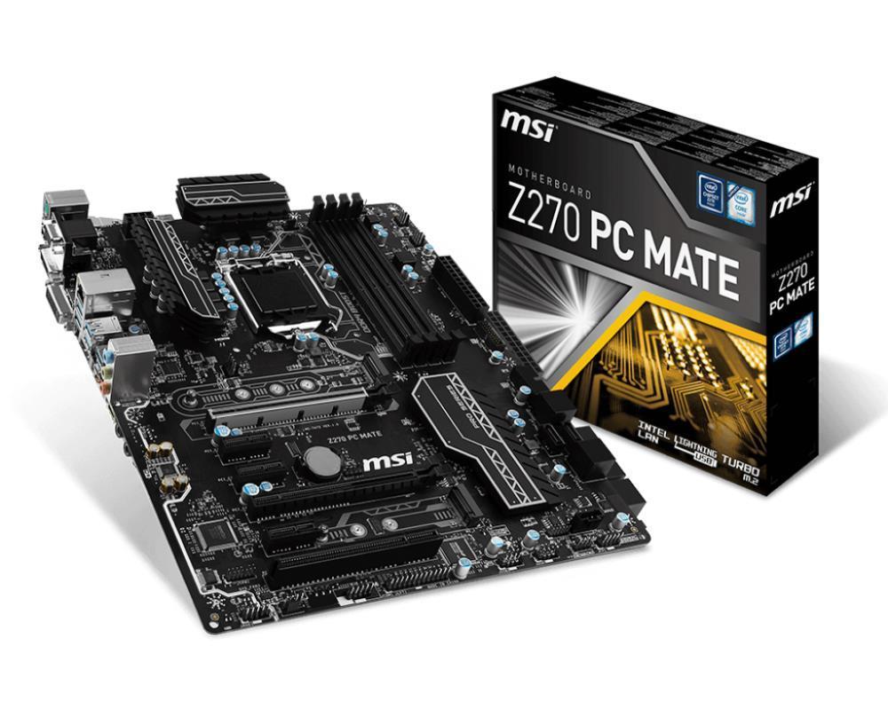 MB Z270 S1151 ATX Z270 PC MATE MSI