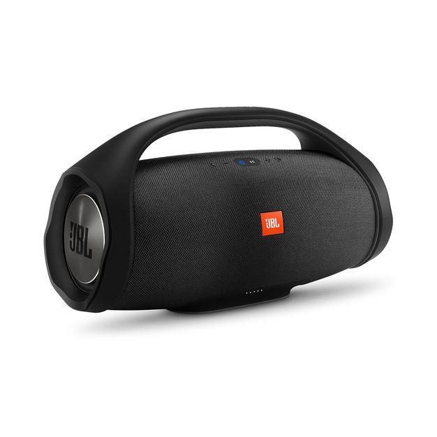 Portable Speaker   JBL   Portable Waterproof Wireless   Bluetooth   Black   JBLBOOMBOXBLK