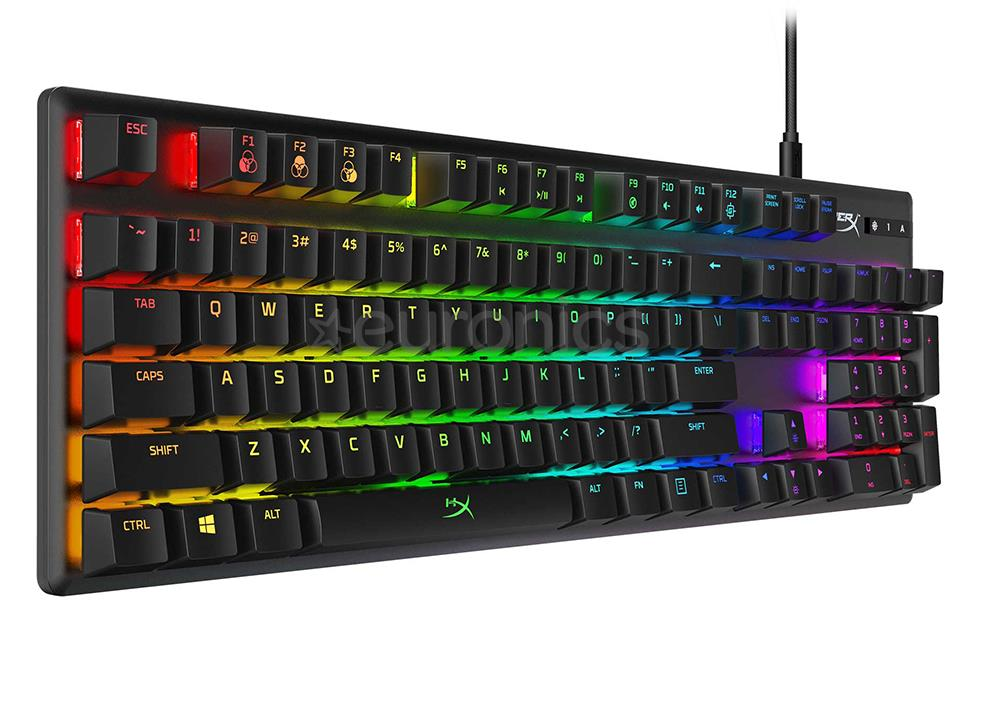 KEYBOARD GAMING MECHANICAL ENG/HX-KB6BLX-US KINGS..