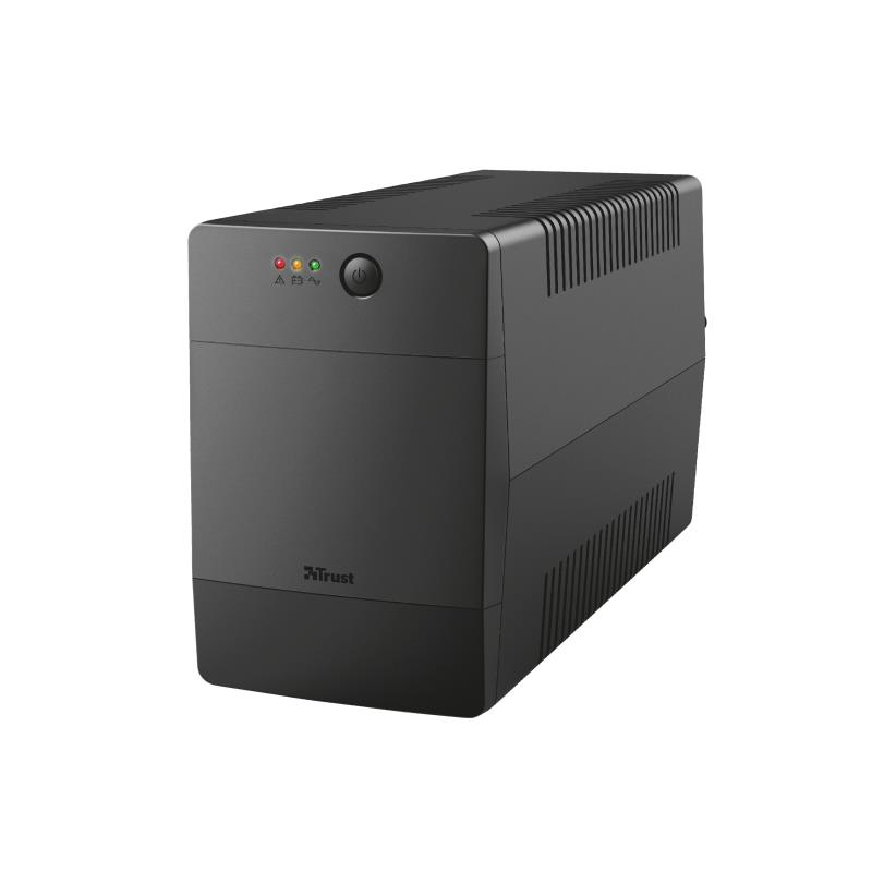 UPS|TRUST|600 Watts|1000 VA|Wave form type Simula..