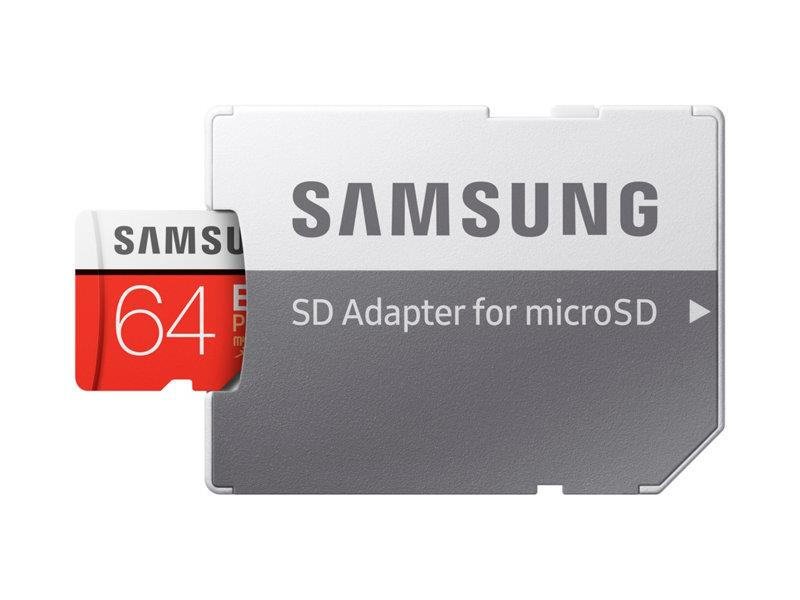 MEMORY MICRO SDXC EVO+ 64GB C10 W A MB-MC64GA EU SAMSUNG