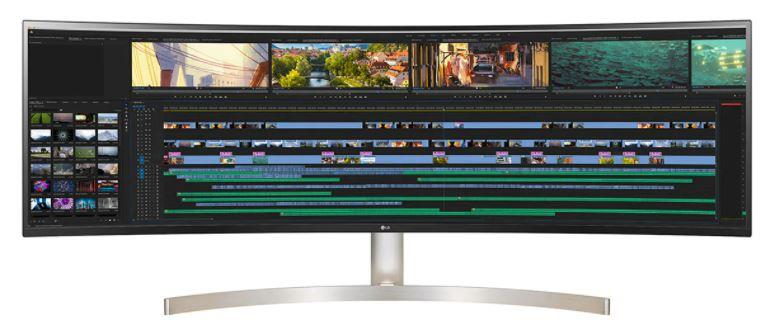 LCD Monitor LG 49WL95C-WE 49