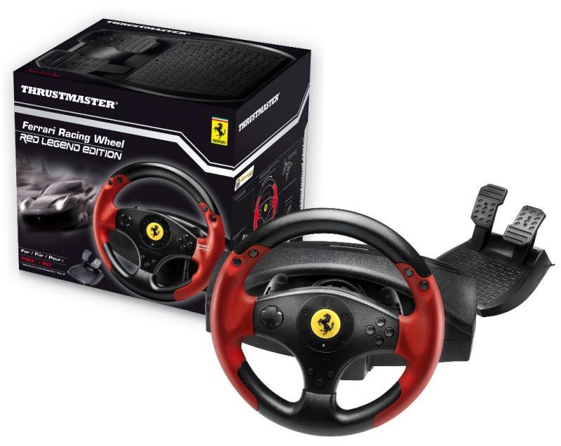 STEERING WHEEL FERRARI RED/LEGEND 4..
