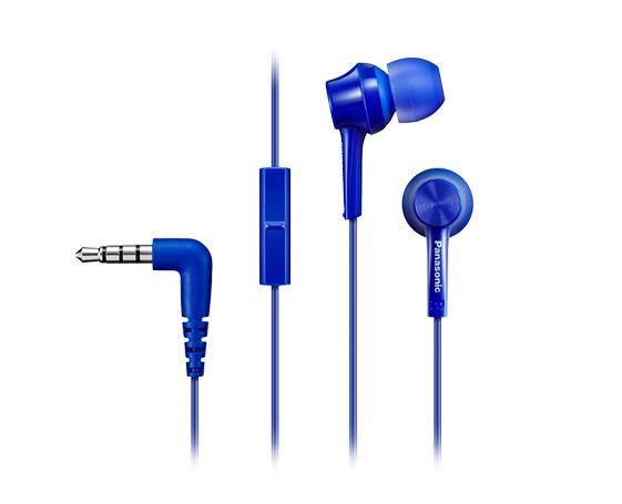 HEADSET/BLUE RP-TCM115E-A PANASONIC