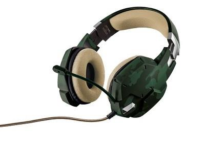 HEADSET GXT 322C GREEN/CAMOUFLAGE 20865 TRUST