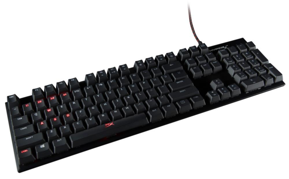 KEYBOARD GAMING ALLOY FPS PRO ENG HX-KB4RD1-US R2 KINGSTON