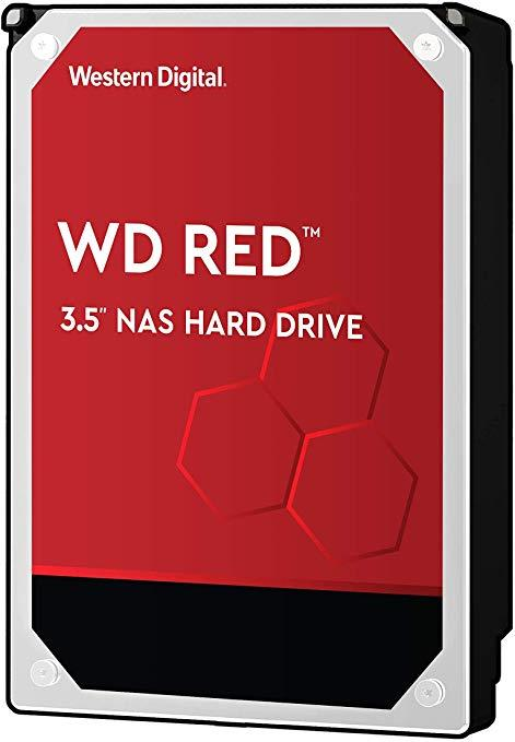 HDD|WESTERN DIGITAL|Red|10TB|SATA 3.0|25..