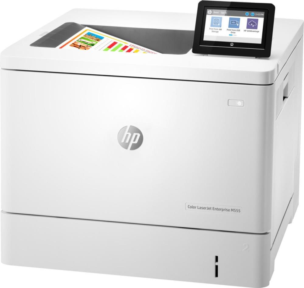 Laser Printer   HP   LaserJet Enterprise M555DN   USB 2.0   ETH   Duplex   7ZU78A#B19