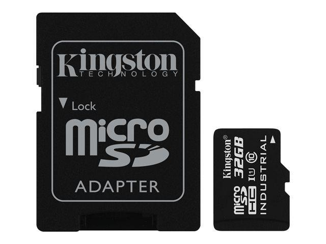 MEMORY MICRO SDHC 32GB UHS-I W ADAPTER SDCIT 32GB KINGSTON