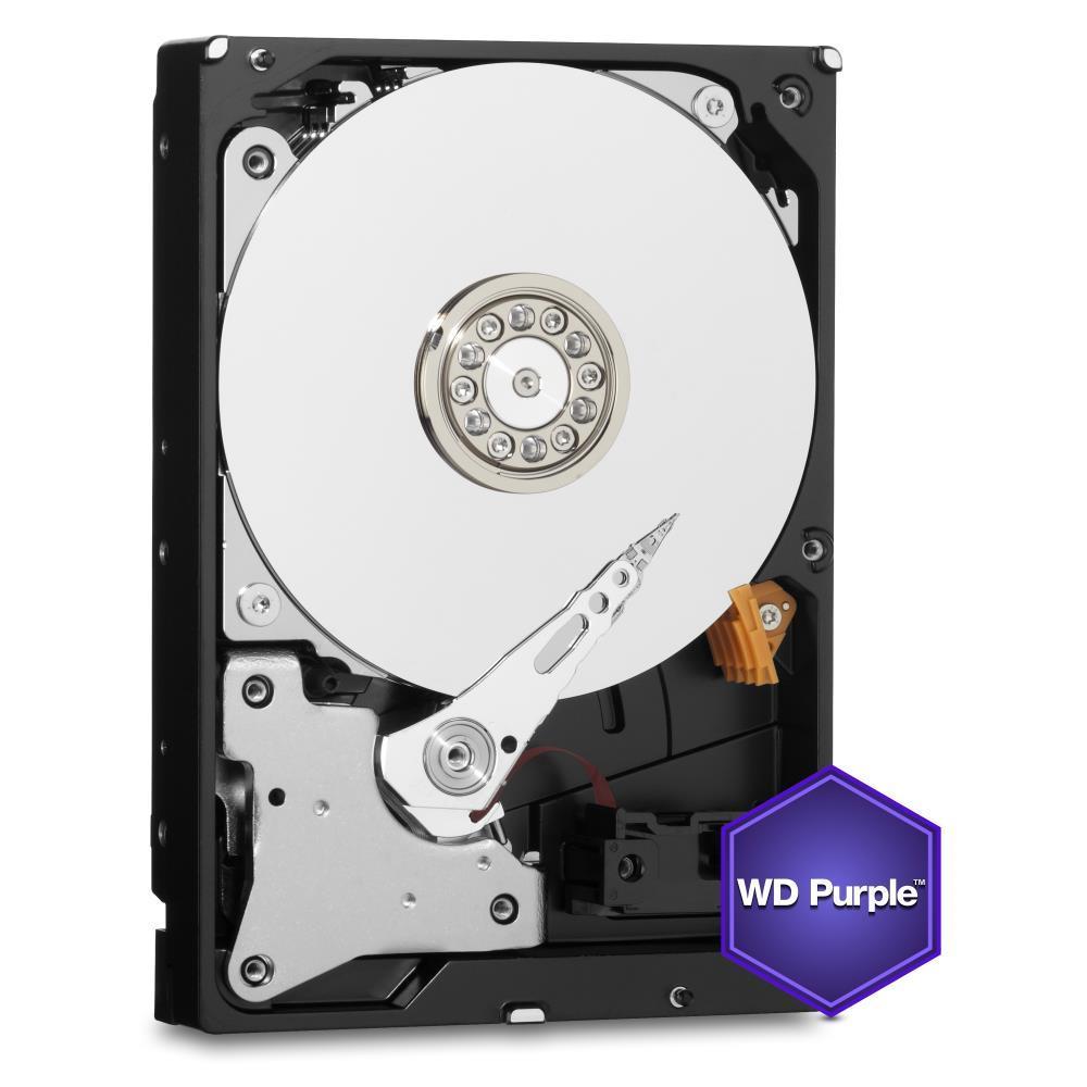 HDD | WESTERN DIGITAL | Purple | 4TB | SATA 3.0 | 64 MB | 5400 rpm | 3,5 | WD40PURZ