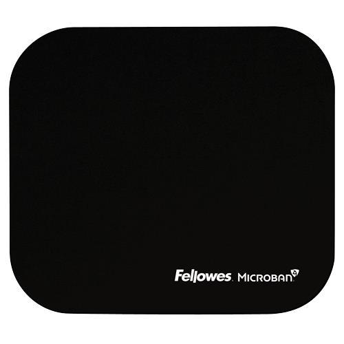 MOUSE PAD MICROBAN/BLACK 5933907 FELLOWES