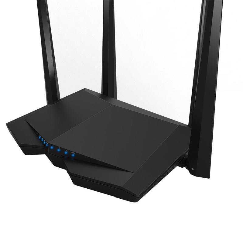 Wireless Router   TENDA   Wireless Router   1167 Mbps   IEEE 802.2   IEEE 802.3   IEEE 802.3u   IEEE 802.11a   IEEE 802.11 b/g   IEEE 802.11n   IEEE 802.11ac   1 WAN   3x10/100M   Number of antennas 4   AC6