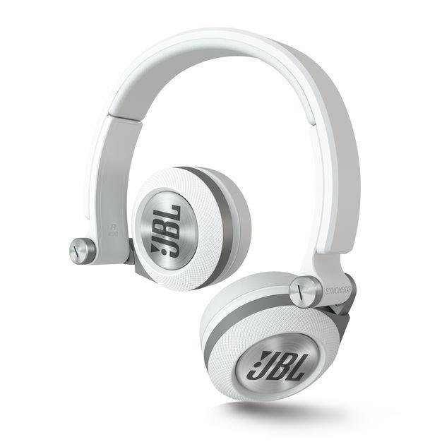 HEADPHONES SYNCHROS WHITE E30 JBL