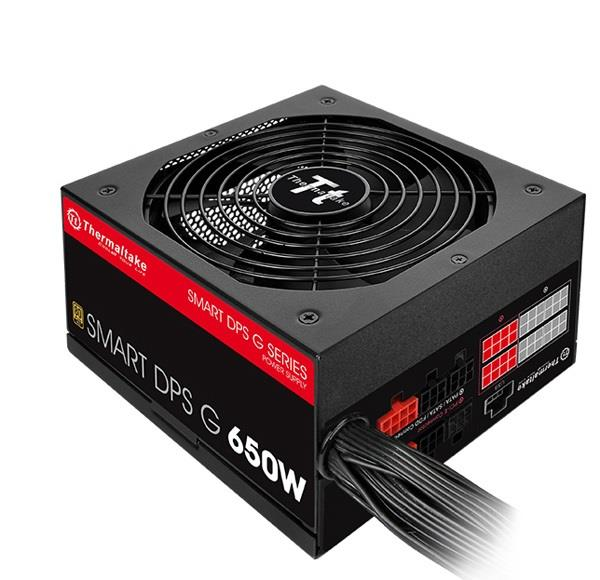 Power Supply | THERMALTAKE | 650 Watts | Peak Power 780 Watts | Efficiency 80 PLUS GOLD | PFC Active | MTBF 120000 hours | PS-SPG-0650DPCGEU-G