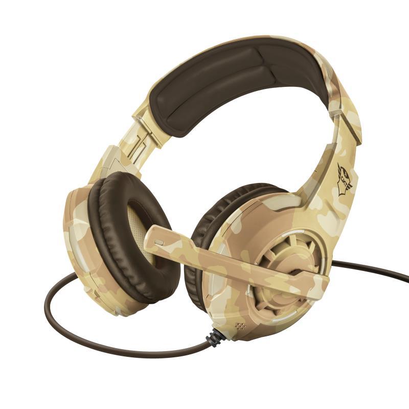 HEADSET GXT 310D RADIUS/DESERT CAMO 22208 TRUST