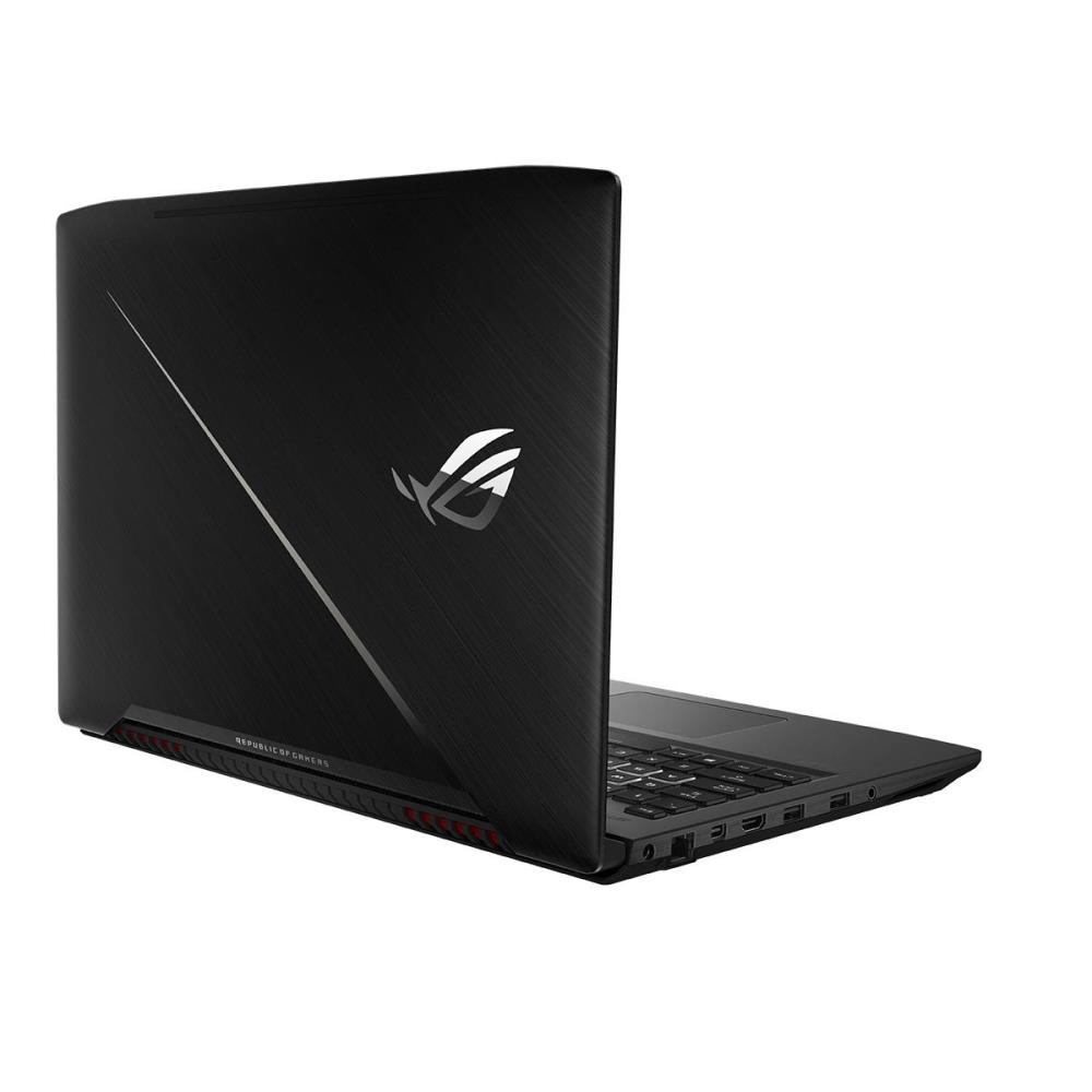 Notebook | ASUS | GL503VM-ED115T | CPU i7-7700HQ | 2800 MHz | 15.6 | 1920x1080 | RAM 16GB | DDR4 | 2400 MHz | HDD 1TB Hybrid HDD (FireCuda) | 5400 rpm | SSD 256GB | NVIDIA GeForce GTX1060 | 6GB | ENG | Windows 10 Home | Black | 2.3 kg | 90NB0GI1-M01730