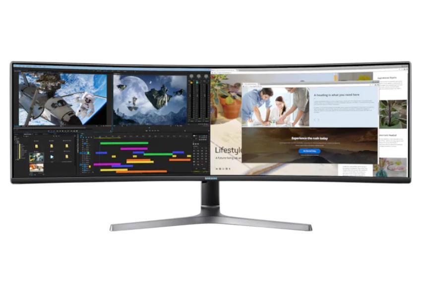 LCD Monitor SAMSUNG CRG90 48.8