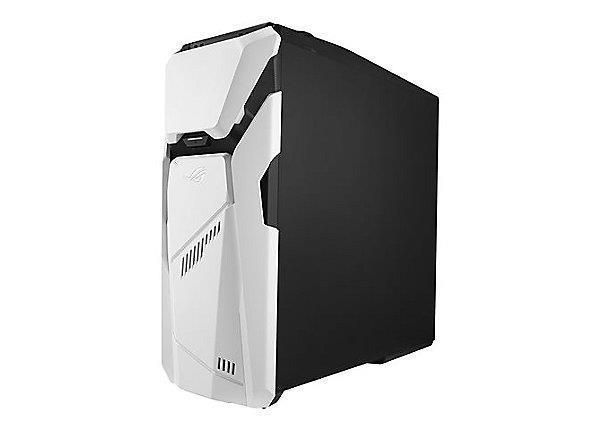 PC | ASUS | ROG | GD30CI | Desktop | CPU Core i5 | i5-7400 | 3000 MHz | RAM 16GB | DDR4 | 2400 MHz | HDD 1TB | 7200 rpm | SSD 256GB | Graphics card NVIDIA GeForce GTX1070 | 8GB | Colour White | Windows 10 Home | Included Accessories USB Keyboard    Mouse |