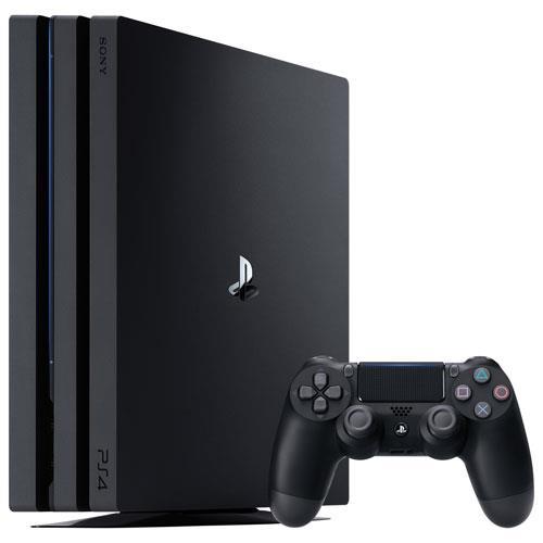 PLAYSTATION 4 CONSOLE 1TB PRO BLACK SONY